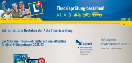 Lehrmittel für die Theorieprüfung App und Software mit den offizieleln Prüfungsfragen für den Führerschein